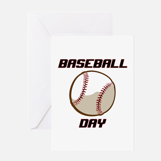 BASEBALL DAY Greeting Cards