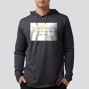 For Everything there is a Season Mens Hooded Shirt