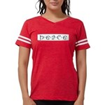 Peace Womens Football Shirt