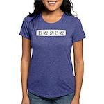 Peace Womens Tri-blend T-Shirt