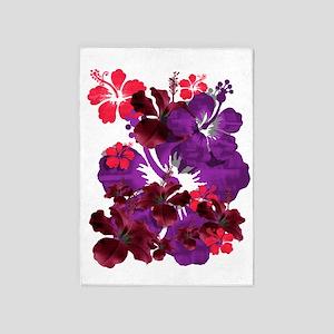 Hibiscus 5'x7'Area Rug