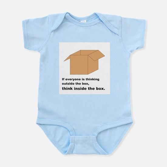 Think Inside the Box Infant Bodysuit