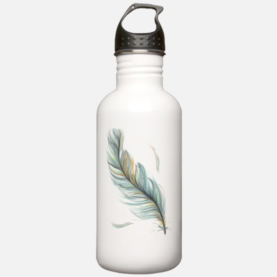 Feather Water Bottle