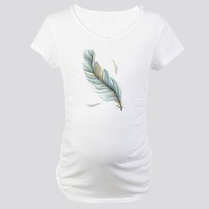 Feather Maternity T-Shirt