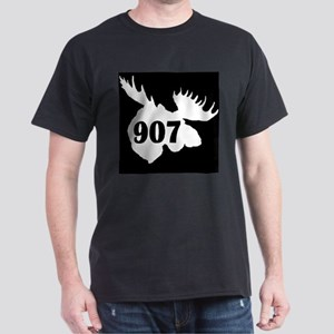 907 Moose Head Dark T-Shirt