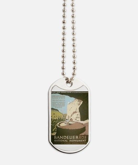 Bandelier National Monument Dog Tags