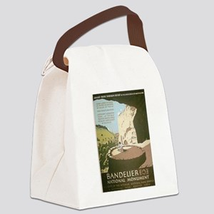 Bandelier National Monument Canvas Lunch Bag