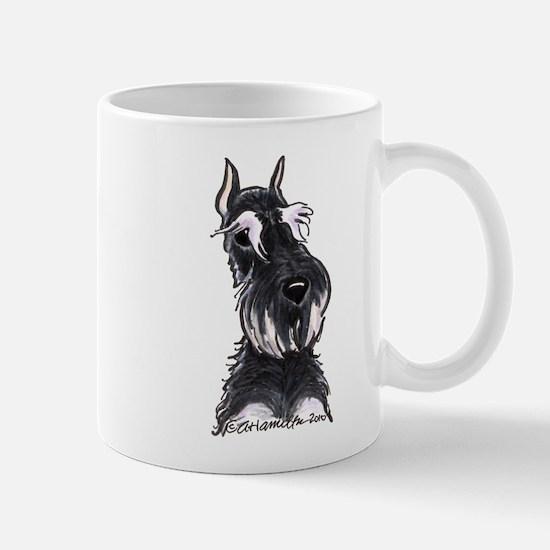 Bk Silver Schanzuer Head Up Mug
