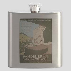 Bandelier National Monument Flask
