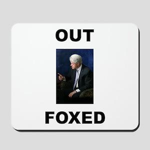 Bill Clinton Outfoxed Mousepad