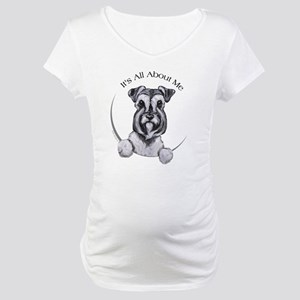 Classic Schnauzer IAAM Maternity T-Shirt