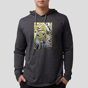Tiger, Asian, wildlife art! Mens Hooded Shirt