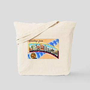 Boston Beantown Tote Bag