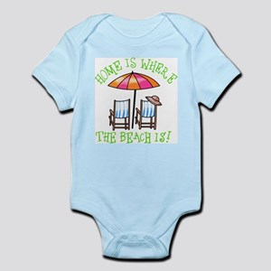 Home is Where the Beach Is Infant Bodysuit