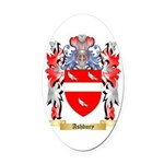 Ashbury Oval Car Magnet