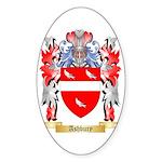 Ashbury Sticker (Oval)