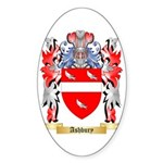 Ashbury Sticker (Oval 10 pk)