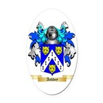 Ashbey Oval Car Magnet