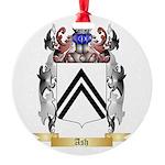 Ash Round Ornament