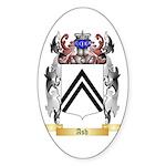 Ash Sticker (Oval 50 pk)