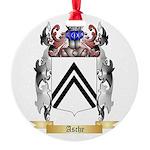 Asche Round Ornament