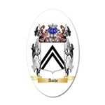 Asche 20x12 Oval Wall Decal