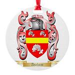 Ascham Round Ornament