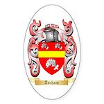 Ascham Sticker (Oval 50 pk)