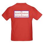 NOT NEGOTIABLE Kids Dark T-Shirt
