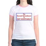 NOT NEGOTIABLE Jr. Ringer T-Shirt