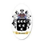 Arundale Oval Car Magnet