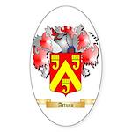 Artuso Sticker (Oval 50 pk)