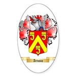 Artusio Sticker (Oval 50 pk)