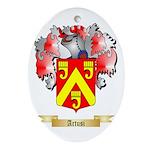 Artusi Ornament (Oval)