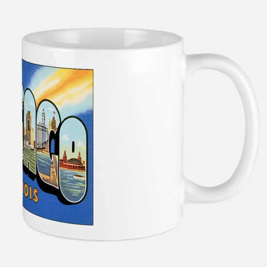 Chicago Illinois Greetings Mug
