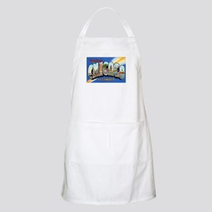 Chicago Illinois Greetings BBQ Apron