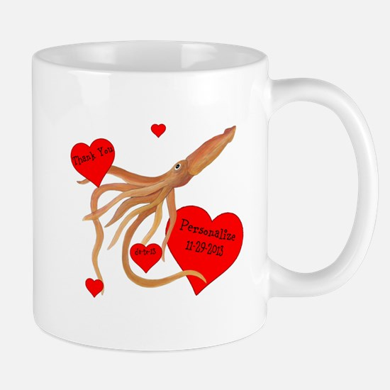 Personalized Squid Mug