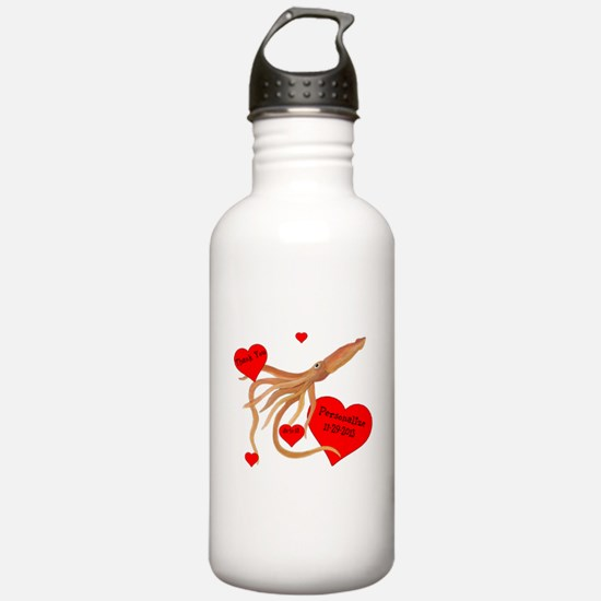 Personalized Squid Water Bottle