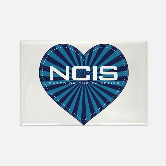 NCIS Heart Rectangle Magnet (10 pack)