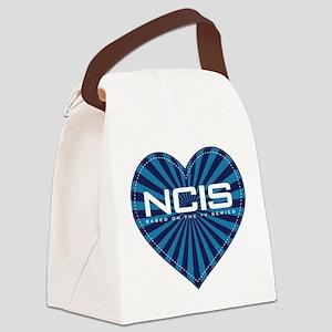 NCIS Heart Canvas Lunch Bag