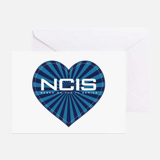 NCIS Heart Greeting Cards (Pk of 20)