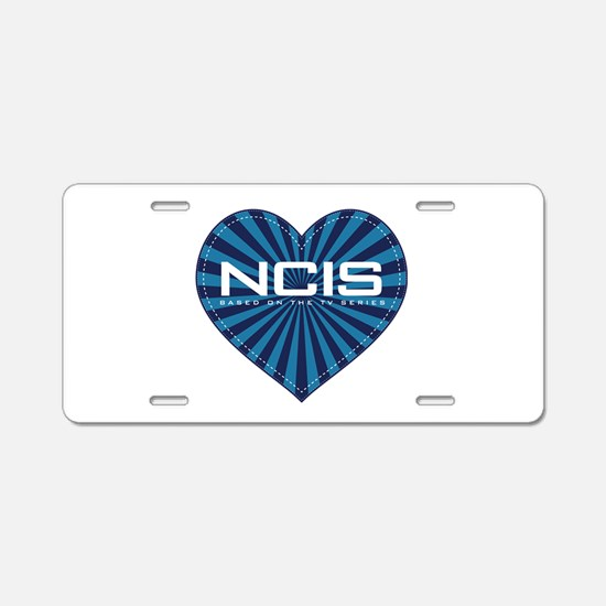 NCIS Heart Aluminum License Plate