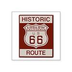 Ludlow Route 66 Square Sticker 3
