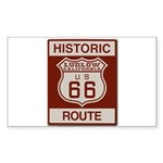 Ludlow Route 66 Sticker (Rectangle 50 pk)