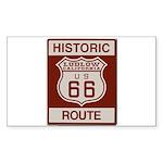 Ludlow Route 66 Sticker (Rectangle 10 pk)