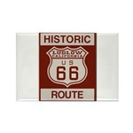 Ludlow Route 66 Rectangle Magnet (10 pack)