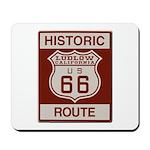 Ludlow Route 66 Mousepad