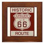 Ludlow Route 66 Framed Tile