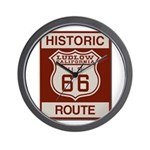 Ludlow Route 66 Wall Clock