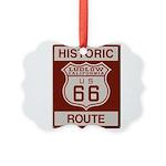 Ludlow Route 66 Picture Ornament